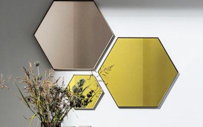 Specchio Visual Hexagonal by Sovet
